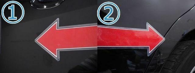1、右Fドア線キズ(5cm)タッチアップ2、左Rフェンダー線キズ(少々)タッチアップ※掲載写真以外にも、年式や走行距離に応じた微細な傷がある場合がございます。予めご了承ください。