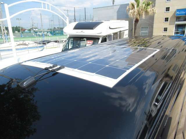 新品ソーラーパネルを装備!!バッテリーも長持ちして安心です!