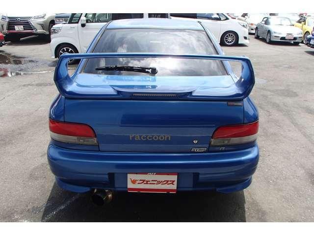 特別仕様車 専用インタークーラー&インタークーラースプレー STIタワーバー/セミバケットシート RS-Rマフラー ルーフベンチレーター 純正16インチAW MOMOステアリング ターボタイマー