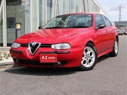 アルファ ロメオ アルファ156 2.5 V6 24V 6速マニュアル/右H/レザー内装/44530Km