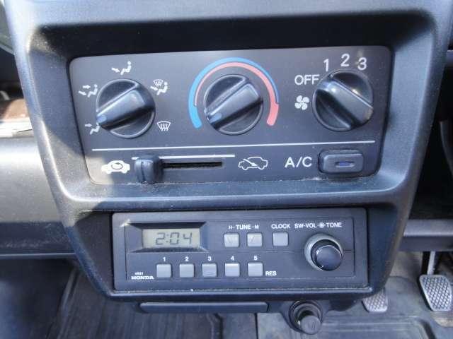 エアコン AMラジオ