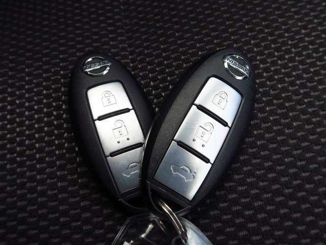 インテリジェントキーで開錠施錠もスマートです!