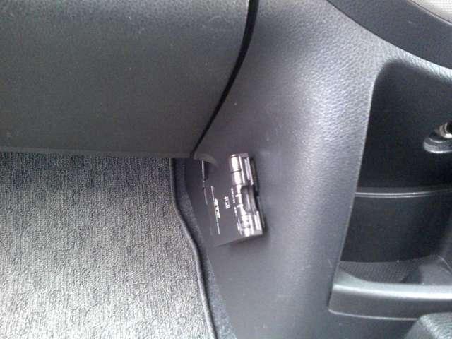 ETC車載器が装着されてます