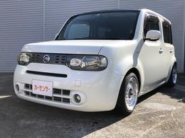 日産 キューブ 1.5 15G 車高調 社外15インチアルミ タイヤ新品