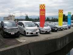 展示場は富山インターから国道41号線をまっすぐ南に5分です。はじめてご来店の方にも分かり易いです