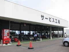 大型設備を備えた工場も併設しております。