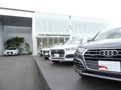 ■中四国エリア最大級のアウディ認定中古車センター「Audi Approved Automobile岡山中央」