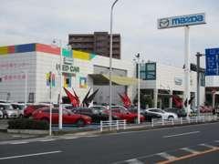 ■国道旧4号線沿いになります。当店は新車・中古車・サービスの総合店舗となります。買取りや車検整備などもお任せ下さい★