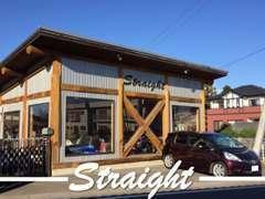 当店の店舗はロッジ風な建物ですので一目で分かると思います。