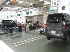 Honda認定中古車ディーラーだからこそ、サービススタッフもHondaのクルマを知り尽くしています、アフターもお任せ下さい♪