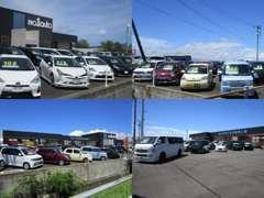 常時150台展示、徳島県内でもトップクラスの在庫数!!事故車は一切取り扱っておりませんので安心してご購入いただけます。