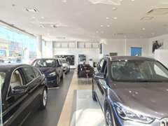 新型車輌も常時展示致しております。 BMWのことなら当店へお気軽にご相談下さいませ。