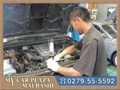 ディーラー経験のある有資格整備士がお客様のお車をバッチリ点検致します!購入後もご安心下さい!