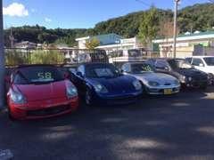 MR-Sやカプチーノ、前型アルトワークスなど、コダワリの絶版車が勢揃い!