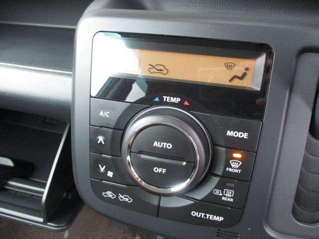 設定した温度に自動で調整してくれるオートエアコン