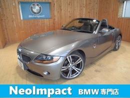 BMW Z4 ロードスター2.2i ナビ ETC 18アルミ バッテリ新品