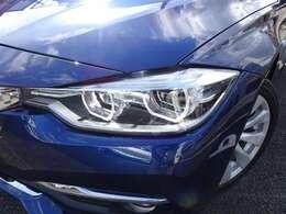 LEDヘッドライトが、BMWの存在感を発揮します!ブラウンレザーシート&ヒーター!ACC!純正ナビ!Bカメラ!LEDヘッドライト&テールランプ!1オーナー!