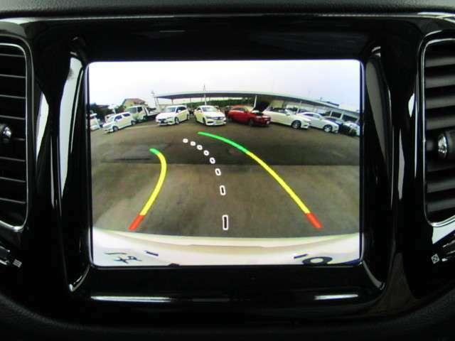 バックカメラ♪バック駐車時も安心です♪