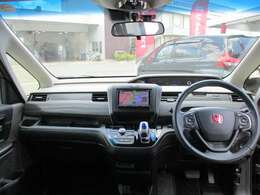 運転席からの視界は良好で景色を楽しみながらドライブが楽しめます。