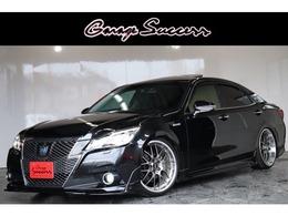 トヨタ クラウンアスリート ハイブリッド 2.5 G TRDモデリスタBBS20AW車高調サンルーフ