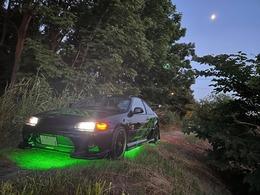 米国ホンダ シビッククーペ 1.6 AT 3ナンバー公認''Biohazard'' D.I.Dデモカー ボディキット レイズ18AW