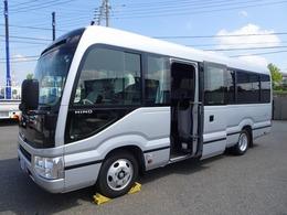 日野自動車 リエッセII 28人乗りマイクロバス GX ロング 左自動スイング扉 冷蔵庫付 AT