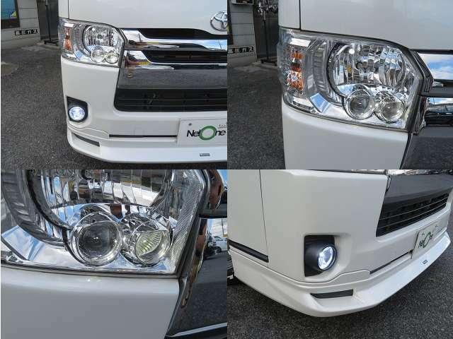4型LEDヘッドライト!
