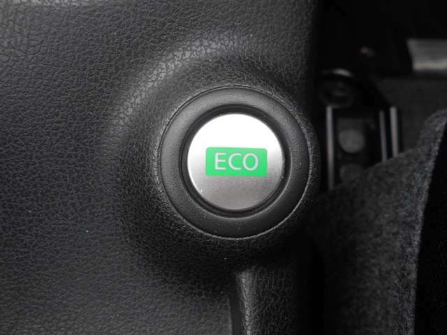 ECOモード付きで燃費の良いマイルドな走りに!