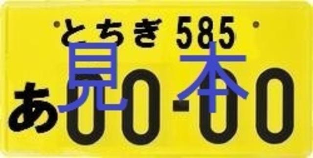 Aプラン画像:ご希望番号によりナンバー取得に数週かかる場合があります(普通車は白ナンバーです)
