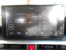 9インチスマホ連携ディスプレイオーディオ!AM/FM/ワイドFMチューナー&TVチューナー(フルセグ・ワンセグ)