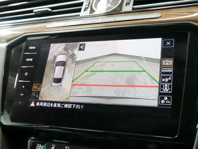 アラウンドビューカメラ(フロント・左右サイド・リアカメラ)リヤビューカメラ オプティカルパーキングシステム(警告音/前後パークディスタンスコントロール/グラフィック表示)