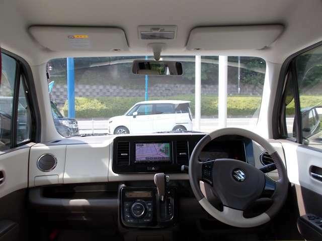 ドライバー目線からです。視界も確保されているので、見やすいですよ。