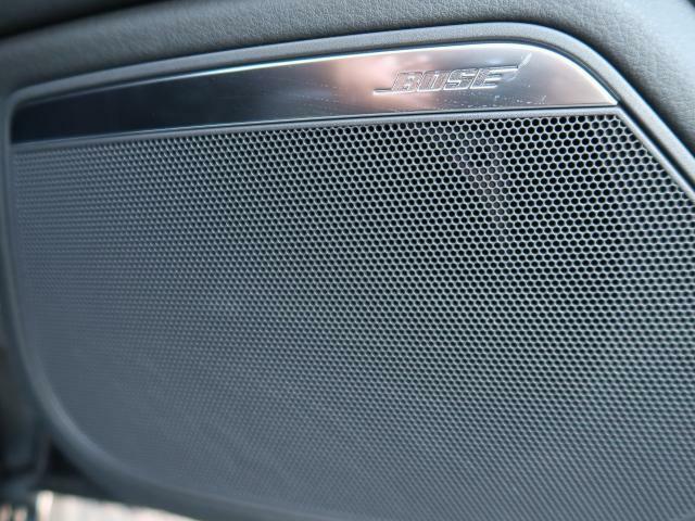 ●BOSEサラウンドシステム『世界に誇る高品質サラウンドシステム。クリアでダイナミック。そして臨場感溢れる上質なサラウンドサウンドをドライブ中にご体感いただけます。』