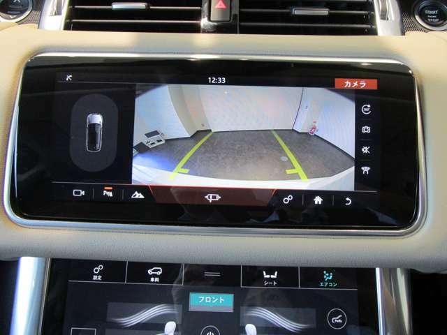 駐車やバックの際に便利な360°カメラ付き! パーキングセンサーも付いております!