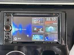 CD、DVD、ワンセグTVはもちろんの事、今や主流の「Bluetooth」機能もしっかり付いてます。