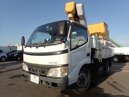 日野自動車 デュトロ 高所作業車 9.7m 4WD 電工仕様 5MT アイチ製 SH09A