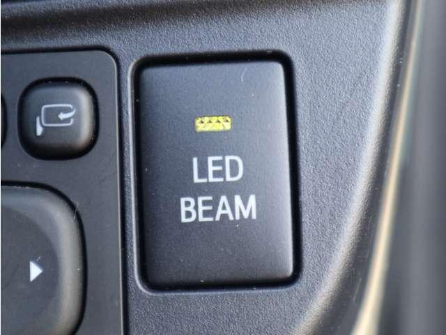 「デイタイムランニングライト」 車それぞれの個性を引き立てています!