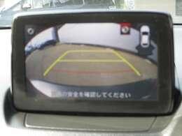 ☆ご覧のようにドライバーの死角をしっかりサポートしてくれるバックカメラ付きです☆