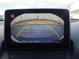 バックカメラ付きで駐車場も安心!