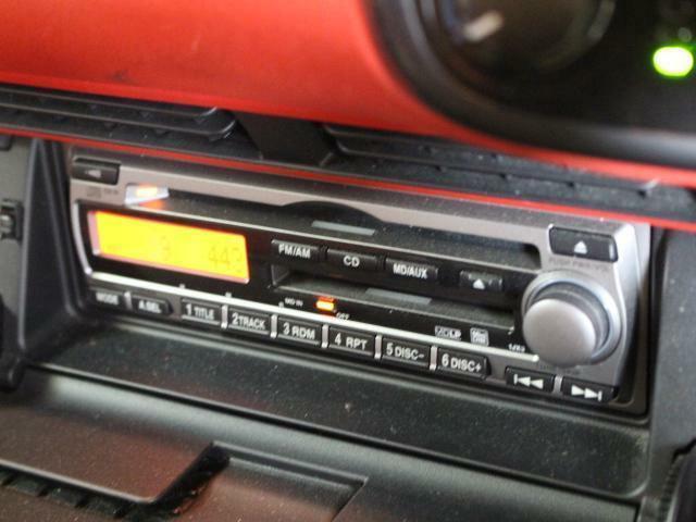 純正CDデッキ!ドライブにオーディオは必須ですね!!