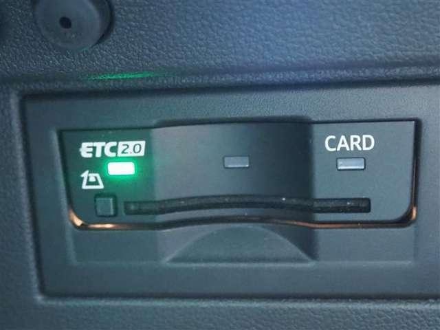 ETC2.0装備! ITSスポット対応なので渋滞情報を受信します!