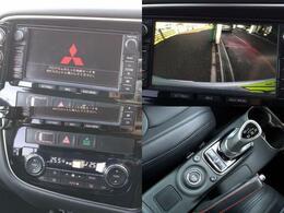 純正メモリーナビゲーション装備!サイドバックカメラも装備で大きなお車に不慣れでもご安心頂けます