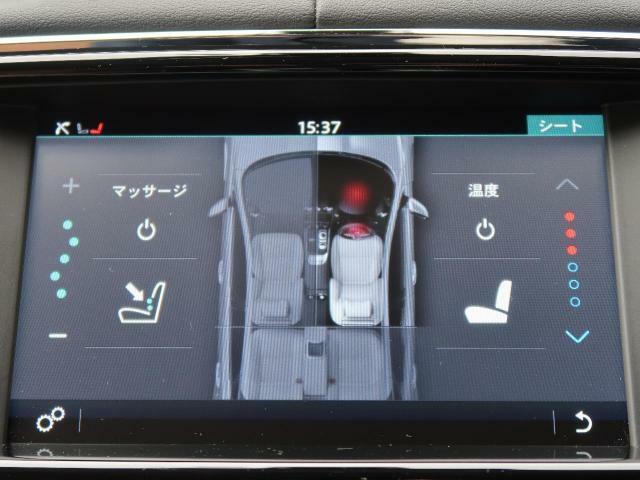 前後席ともに3段階で強弱の調節が可能なシートヒーター&クーラー機能を装備!すべての乗員が季節を問わず快適に過ごせます。前席にはマッサージ機能も搭載されており、プレミアムカーならではの装備と言えます♪