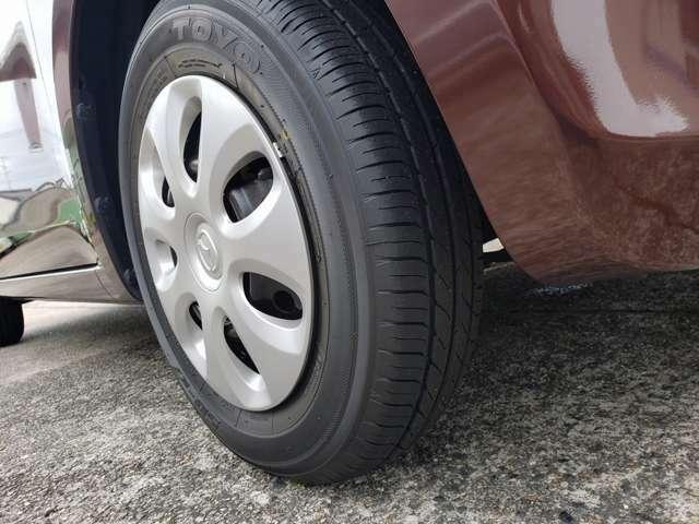 タイヤ新品交換済み