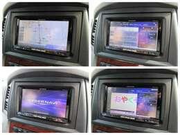 社外HDDナビが装備されております♪画面もクリアで運転中も確認しやすいです♪フルセグTVとDVDの視聴もお楽しみ頂けます♪ミュージックサーバーも搭載されておりますのでお好きな音楽を録音してください♪