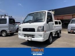 スバル サンバートラック 660 TB 三方開 4WD 4WDA/C P/S マニュアル 作業灯付