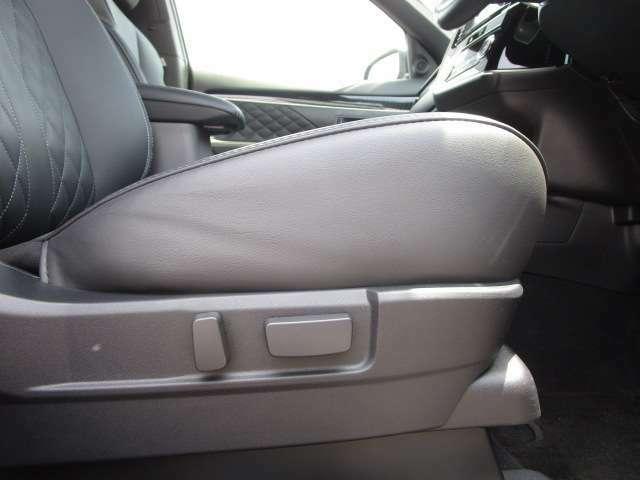 運転席助手席電動シート