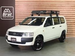 トヨタ プロボックスバン 1.5 DXコンフォートパッケージ 4WD 新品デイトナ15AW マッドスタ-A/T リフトUP