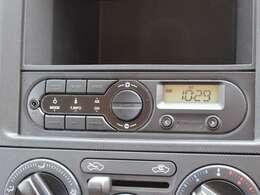 ラジオチューナー付き!