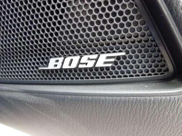 ☆こだわりのBOSEサウンドシステム!車両開発段階から音作りに参画。全席で最適な音でお楽しみ頂けます。是非1度お試し下さい☆
